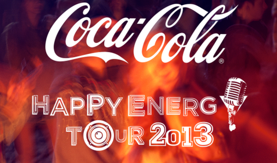 COCA COLA Happy Energy Tour 2013