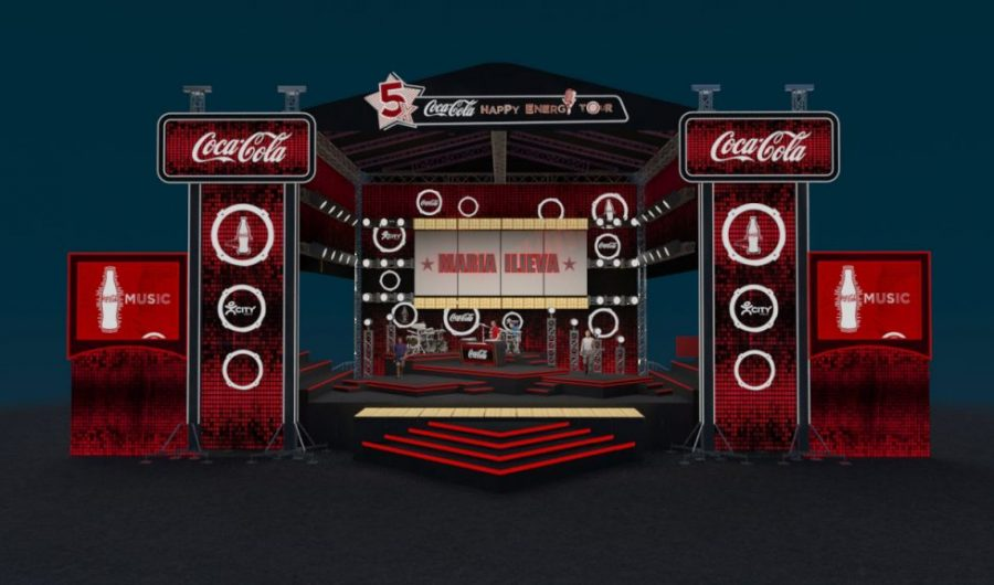 COCA COLA Happy Energy Tour 2014